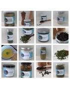 Production de sel, de végétaux des marais et d'algues